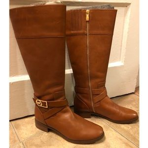 "Michael Kors ""Luggage"" Bruce Boots"